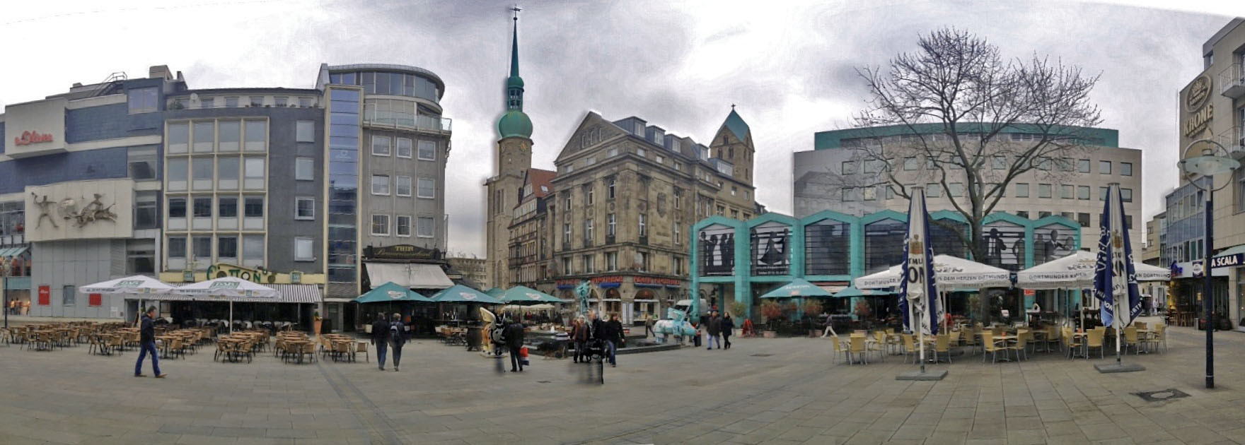 Autovermietung dortmund - alter Markt in Dortmund