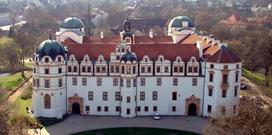 Autovermietung Celle - das Celle Schloss