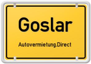 Autovermietung Goslar - Stadt Goslar