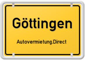 Mietwagen in Göttingen - mit Preisvergleich zur besten Autovermietung in Göttingen