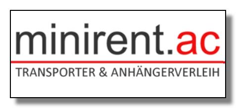 Minirent Aachen - der günstige Transporterverleih in Aachen und Würselen