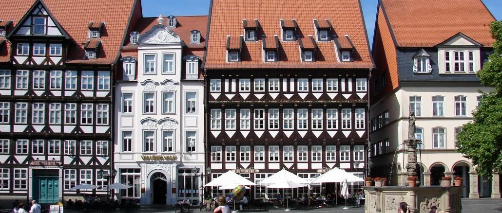 Marktplatz in Hildesheim - mit dem Leihwagen Hildesheim erleben