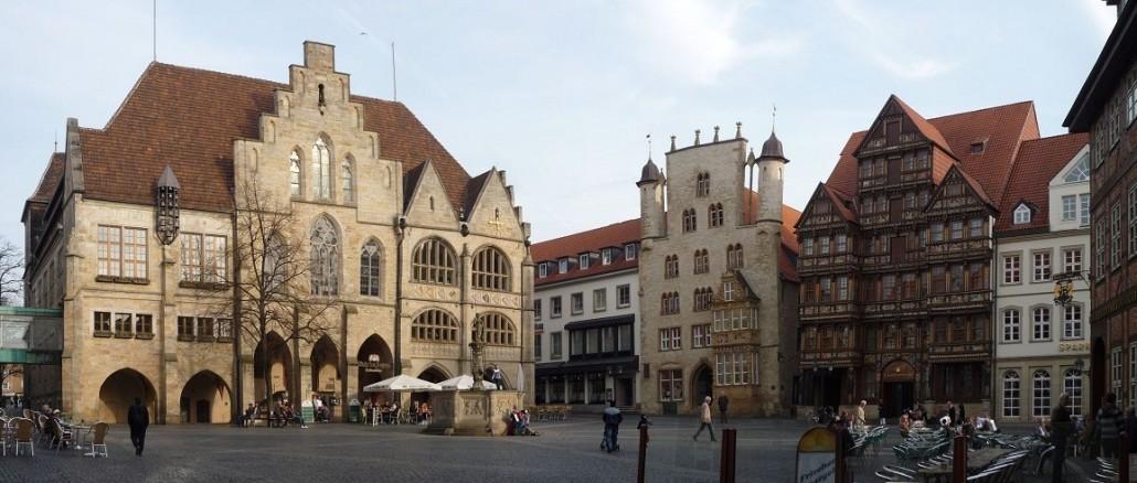 Autovermietung Hildesheim - Marktplatz von Hildesheim