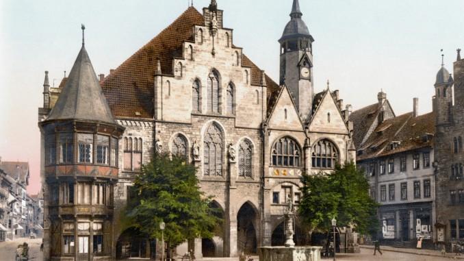 Hildesheim um 1900