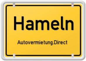 Stadt Hameln - mit dem Mietwagen Hameln erleben