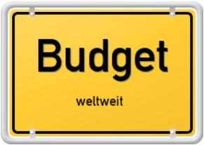 Budget Online-Portal - weltweit buchen