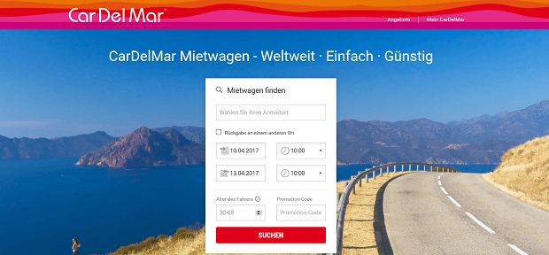 CarDelMar Autovermietung - weltweit günstige Mietwagen und Transporter